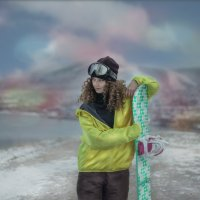 сноуборд :: Nata_fol Фольмер