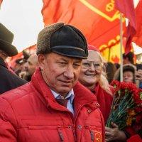 Москва. 7 ноября в лицах :: Андрей Воробьев