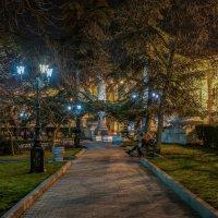 В аллеях Приморского бульвара :: Александр Пушкарёв