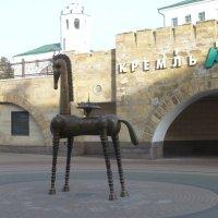 Скульптура «Конь-Страна» :: Наиля