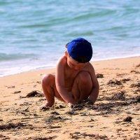 Осенний пляж :: Ольга (crim41evp)