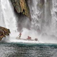 Под струями Дюденского водопада :: Nina Karyuk