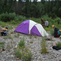 98. Установка палатки. :: ВикТор Быстров