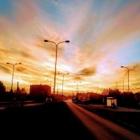 Осеннее раннее утро :: Вячеслав Михеев