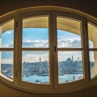 Окно с видом на Стамбул :: Ирина Лепнёва