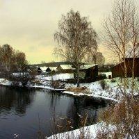 Ноябрьский пейзаж :: Нэля Лысенко