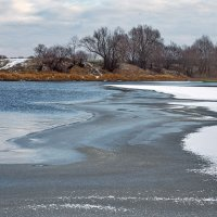 Реки настойчив первый лёд... :: Лесо-Вед (Баранов)