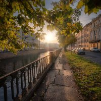 Осеннее солнце на канале Грибоедова :: Fuseboy