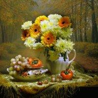 ...и хризантем осенних сладкий плен... :: Валентина Колова