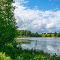 Голубое озеро... :: Александр Силинский