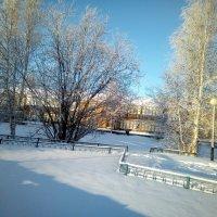 Зимушка - зима... :: Valentina Perfileva