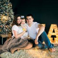 Зимняя семейная фотосессия :: Анастасия Володина
