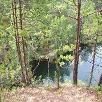 Над озером :: Елена Викторова