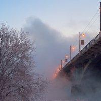 Мост через Ангару. Иркутск :: Nikolay Svetin