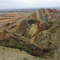 Давид-Гареджийская пустыня. разноцветные горы :: Лариса Батурова