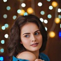 Гламурный новогодний портрет :: Алёна Дуклер