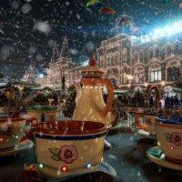 Новогоднее чаепитие на Красной площади :: Эльмира Суворова