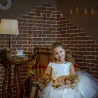 Аленка и щенки :: Ирина Kачевская