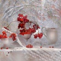 Зима колдует наяву.... :: Валентина Колова