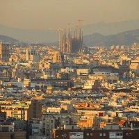 Рассветное утро Барселоны :: Николай Танаев