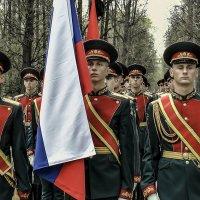 Военнослужащие батальона Почётного караула Москвы. :: Игорь Олегович Кравченко