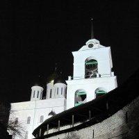 Псковский Кремль ночью. :: Ирина ***