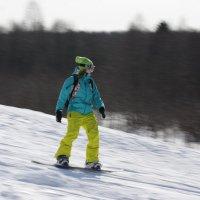 Леди на сноуборде. :: Павел