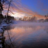 В тишине зимнего заката... :: Андрей Войцехов