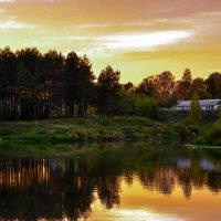 Теплый летний закат :: Вероника Алатырева