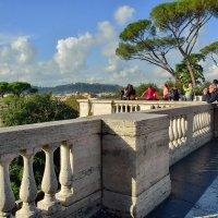 Смотровая площадка над пьцца дель Пополо :: Olcen Len