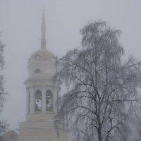 Город в тумане. :: Андрей + Ирина Степановы