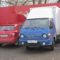 Две машины :: Дмитрий Никитин