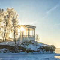 frost and sun is a wonderful day :: Dmitry Ozersky