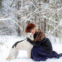 Человек-собаке друг! :: Юлия Астратенко