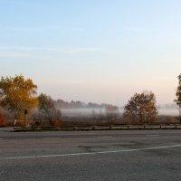 Утро туманное... осеннее... :: Наталья Костенко