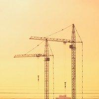 ...строительство жилого комплекса в Братеево /Москва 2018 :: Pasha Zhidkov