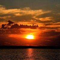 Озеро Танабай. Заход солнца. :: Штрек Надежда