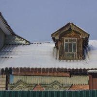 Мои окрестности,контраст времен в одном строении :: Петр Беляков