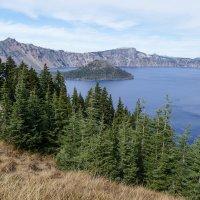 Озеро Крейтер, продолжаем прогулку! (штат Орегон) :: Юрий Поляков