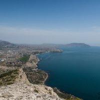 Вид на Судак с горы Сокол. :: Сергей Бойко