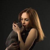 Девушка и кот :: Анна Чуйкова