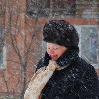 Снегопад, снегопад, не мети мне... на плечи! :: Валентина  Нефёдова