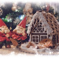 Рождественский пряничный домик. :: Елена Kазак