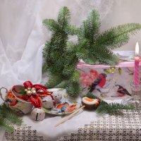 С наступающим Новым годом и Рождеством! :: Валентина Колова