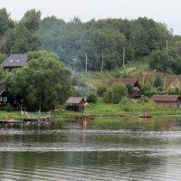 На реке Свирь :: Вера Щукина