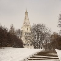 Храм Вознесения в Коломенском, Москва :: Владимир Брагилевский