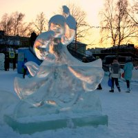 Ледяная Огневушка :: Нэля Лысенко