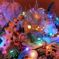 Новогодние игрушки :: Надежда Лаптева