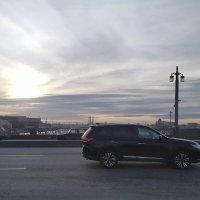 На Благовещенском мосту в СПб.Автор Саша :: Фотогруппа Весна-Вера,Саша,Натан