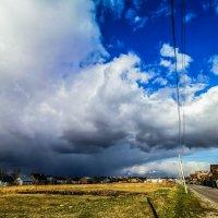 Приближение снегового шторма :: Сергей Сошко